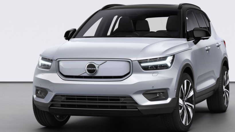 Volvo Xc40 Recharge To Reduce Carbon Emission By 40 Percent Techgenyz Volvo Volvo Cars Volvo V40