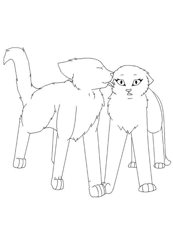 warrior cats ausmalbilder  my blog