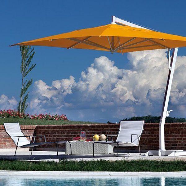 Fim P Series Aluminum Square Cantilever Umbrella