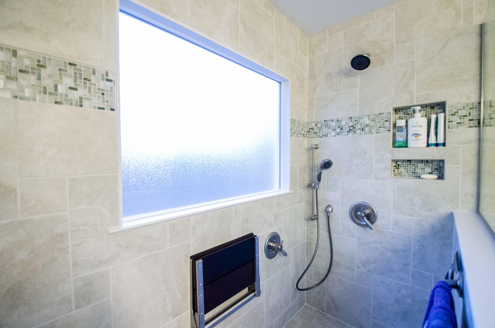 CN642 - AFTER -0082 | Bathroom trends, Remodel bathroom and Shower seat