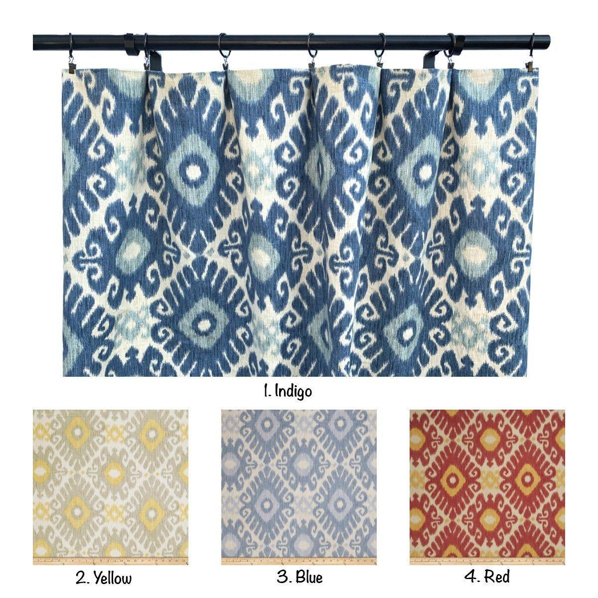 jaclyn smith curtain panels linen