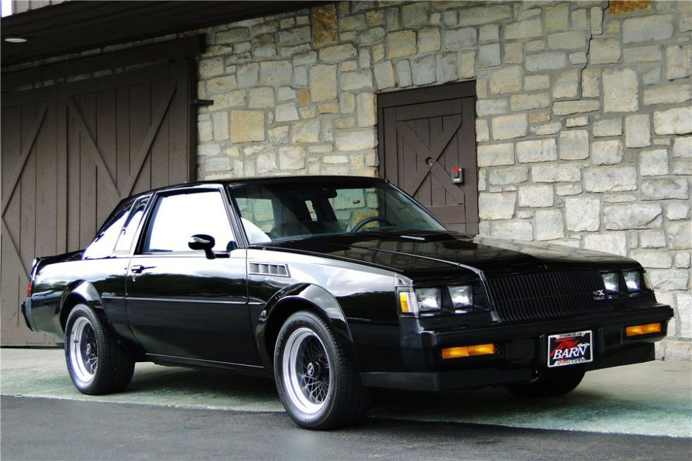 The most expensive Buick GNX ever sold Buick regal, Cars and Wheels - regal für küche