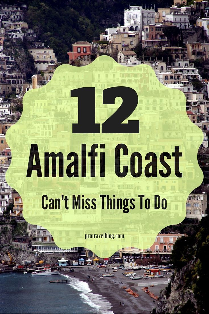 12 Best Things To Do In Amalfi Coast Italy