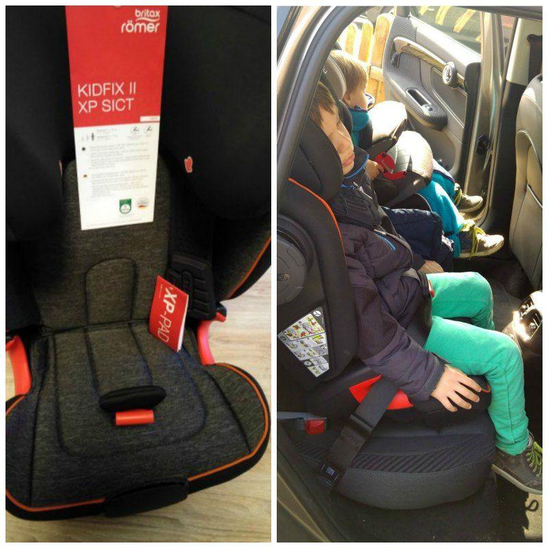 Britax Kidfix II XP SICT Car Seat Black Series