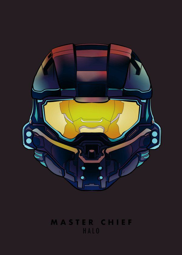 Master Chief By Mr Jackpots Metal Posters Video Games