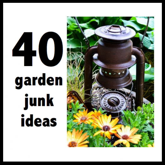 SNS 176 - JUNK garden planters | Funky junk interiors, Funky junk ...