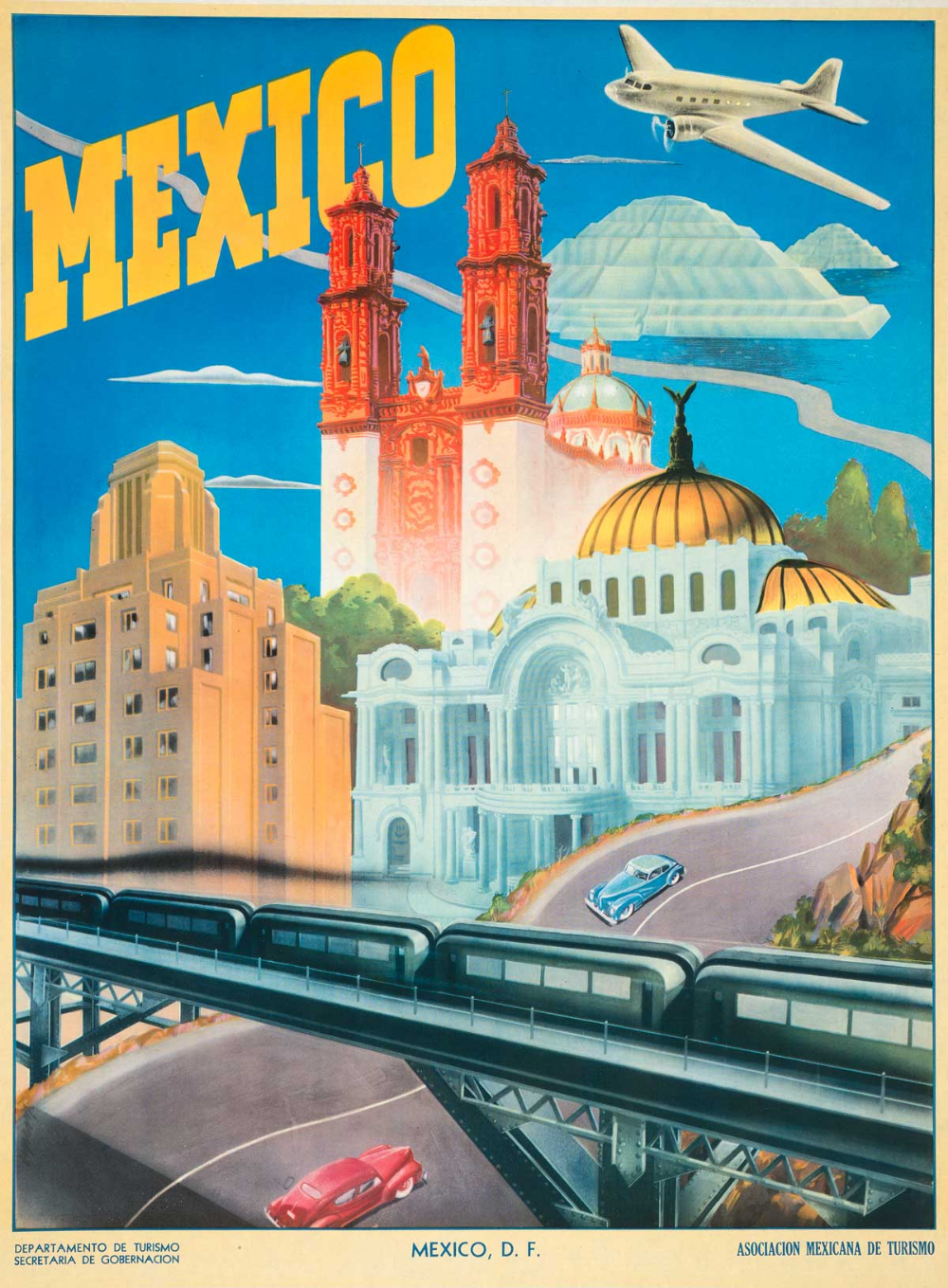 Take Home A Little Bit Of Mexico With Vintage Travel Postcards Travel Postcard Vintage Travel Vintage Travel Posters