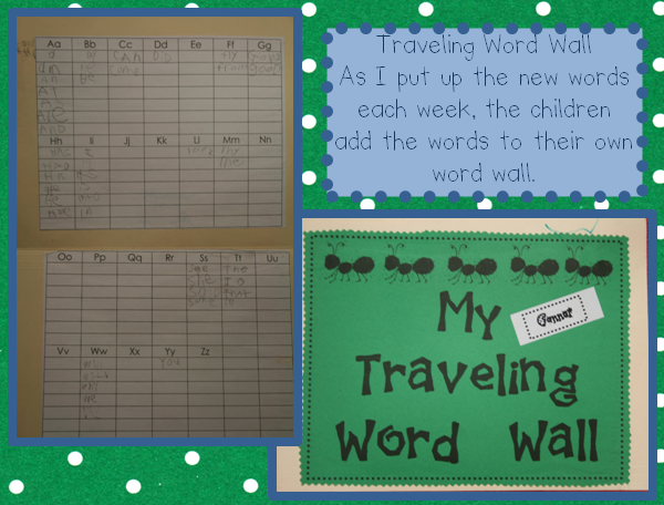 Add a sheet to kid's homework folders to practice ALL words throughout yr.they add as we add