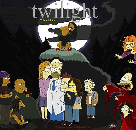 Best Simpsons Parody Simpsons Art The Simpsons Movie Simpsons Treehouse Of Horror