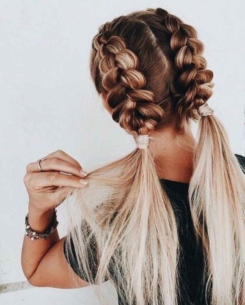 Stunning 36 Braided Hairstyles For White Women Http Vattire Com Index Php 2018 08 23 36 Braided Hai Braided Hairstyles Easy Hair Styles Cool Braid Hairstyles