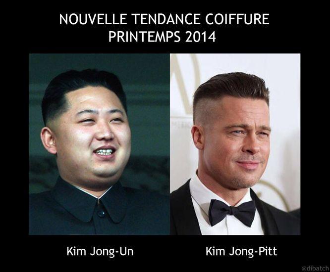 Coupe cheveux kim jong un