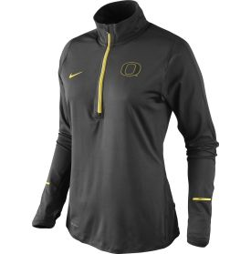hot sale online f4d02 50db7 Nike Women's Oregon Ducks Tonal Element Half-Zip Performance ...