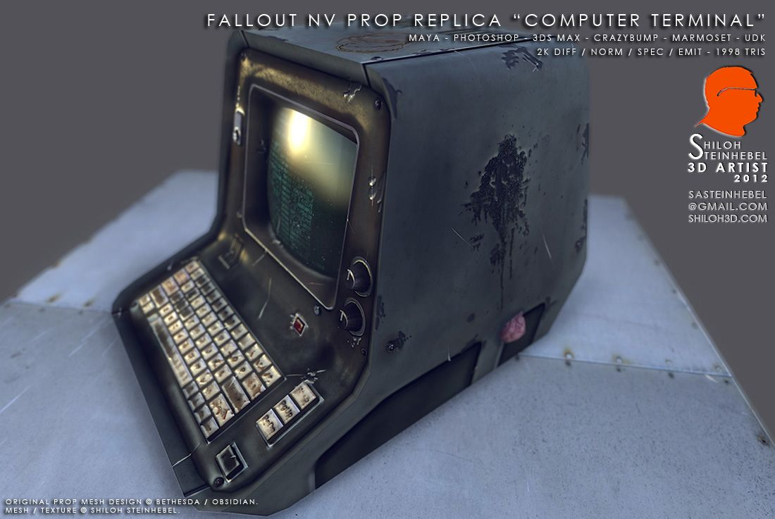 Fallout Terminal Real Life Fallout 4 Props Fallout