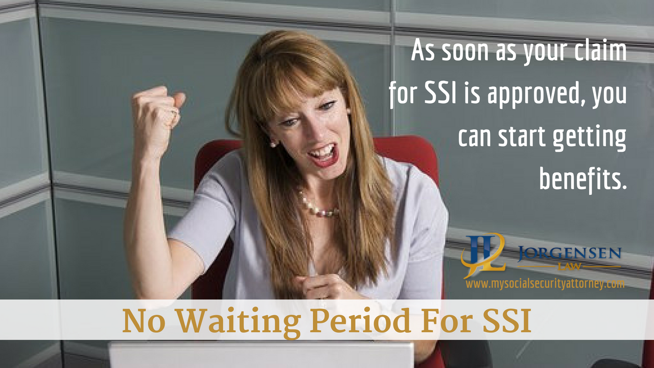 No Waiting Period For Ssi Disability Payments Supplemental