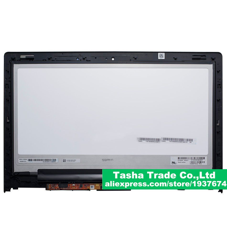 For Yoga 2 13 Lcd Touch Digitizer Assembly Fhd 1920 1080 B133han02 0 For Lenovo Yoga 2 13 Lcd Assembly With Frame Laptop Accessories Lenovo Laptop