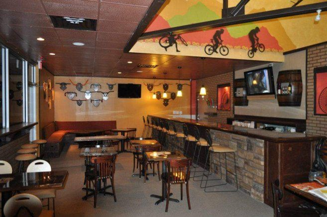 look different interior design by bicycle queen home design best - Cafe Interior Design Ideas
