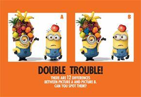 Double Trouble Activity
