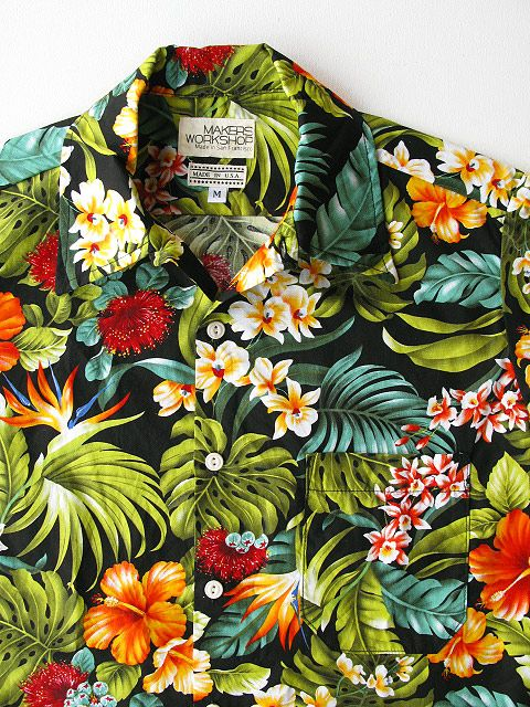 b0dfca7018 SEILIN   CO. MAKERS WORK SHOP Hawaii S S Shirt