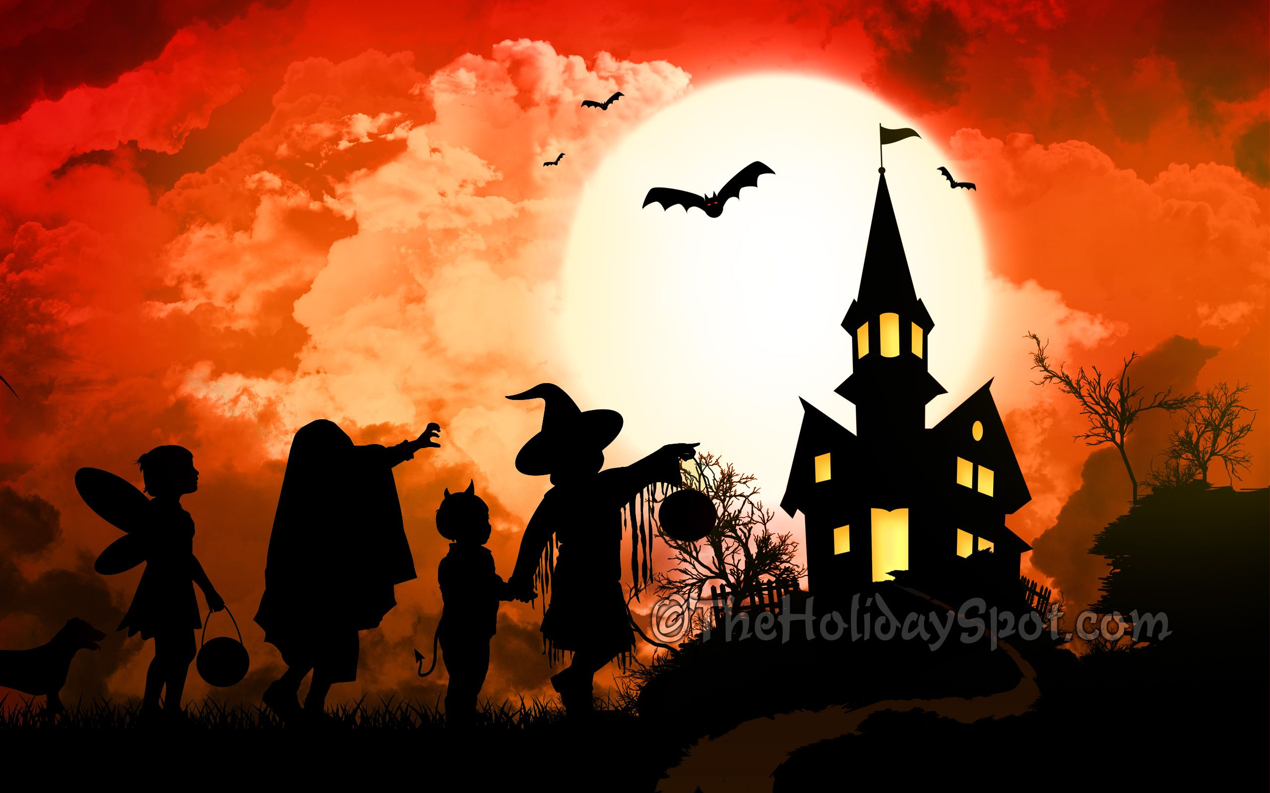cute halloween wallpaper | Give a scary treat to everyone by ...
