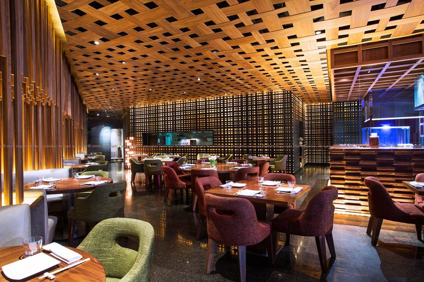 Nozomi Riyadh Restaurant Bar Home Decor Restaurant