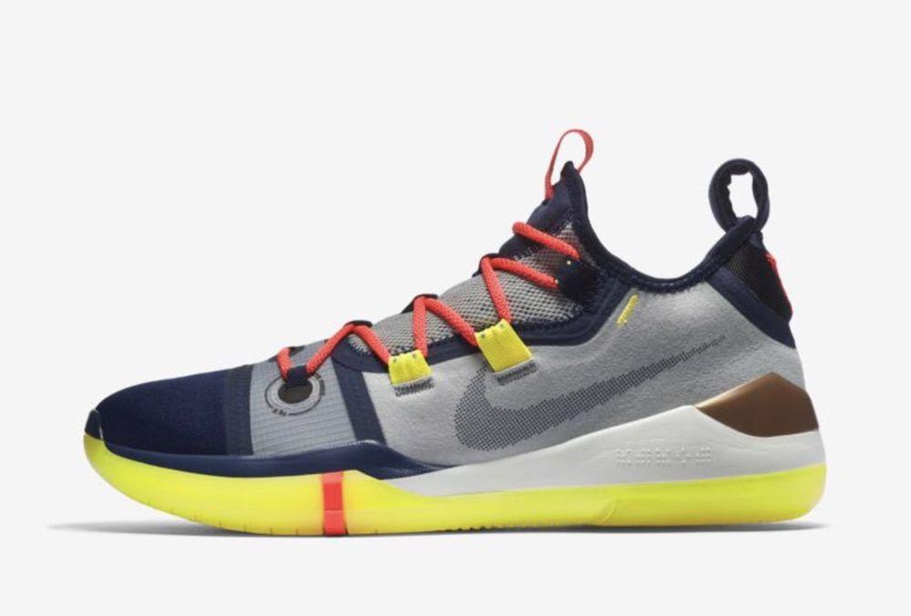 the latest 0ba26 627ac fashion Nike Kobe A.D AD Exodus The Legacy Continues Sail Multicolor Mamba  Day