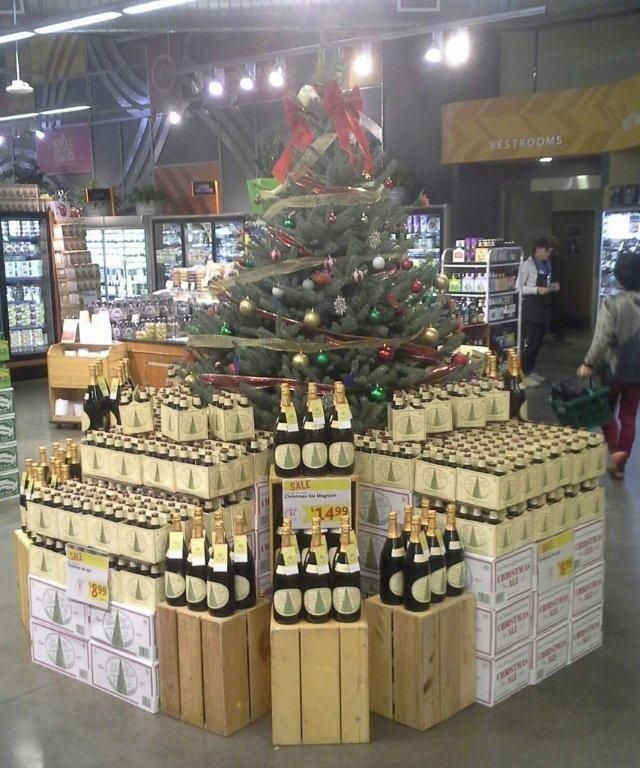 Anchor Brewing Company's displays in Whole Foods Markets for their ...