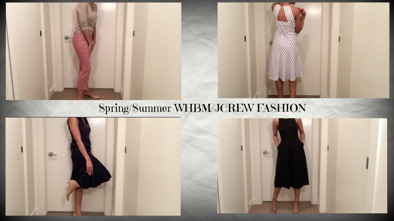 Spring/Summer Fashion Looks!!! WHBM/JCREW FASHION
