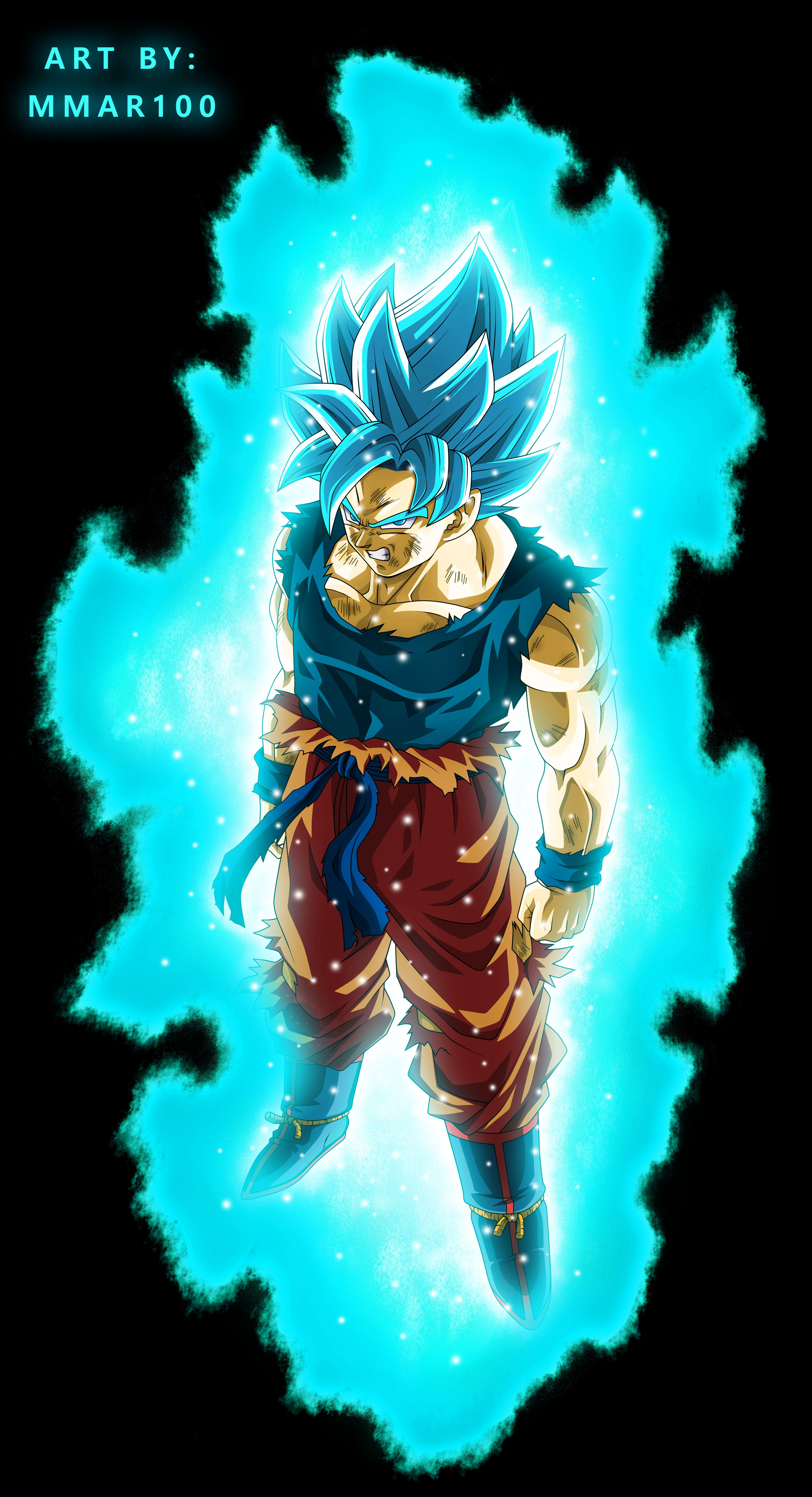 Beyond A Super Saiyan God Super Saiyan Blue By Mmar100 On Deviantart Anime Dragon Ball Super Goku Super Saiyan Blue Goku Super Saiyan God