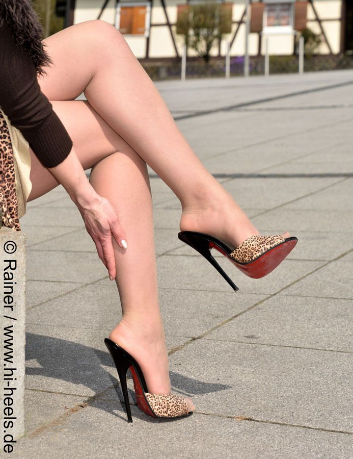 Sexy Spiked Heels
