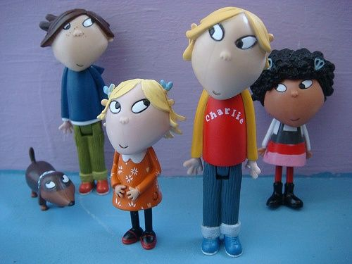 I Want These Charlie And Lola Cute Dolls Charlie Toy Collection