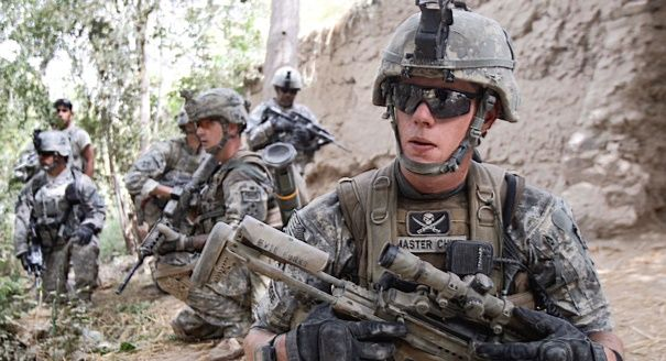 American soldiers fighting in Afghanistan (Reuters) | Obama