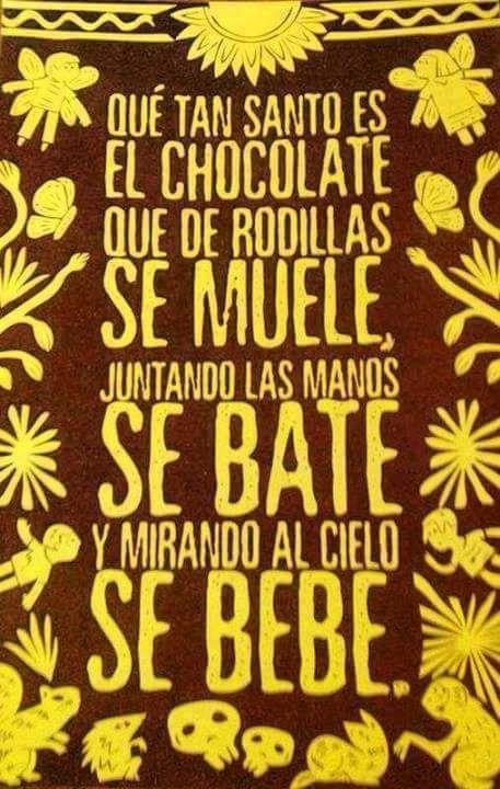 Chocolate de mi vida