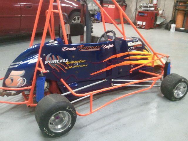 Thunder chassis quarter midget