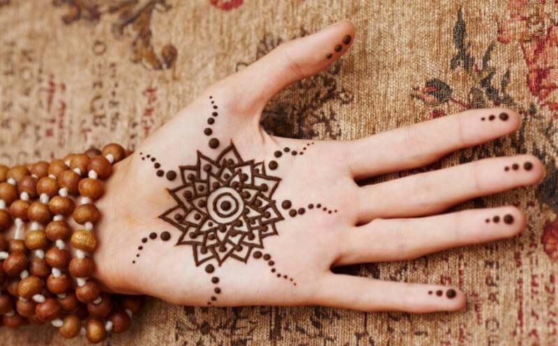 Henna Telapak Tangan Simpel Tato Henna Mehndi Designs Desain Henna