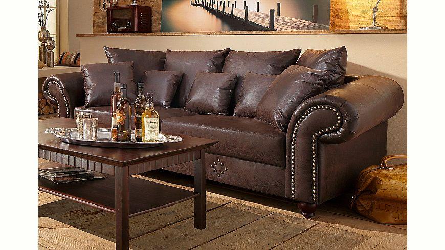 Jetzt Home affaire Big-Sofa »King George« günstig im naturloft - big sofa oder wohnlandschaft