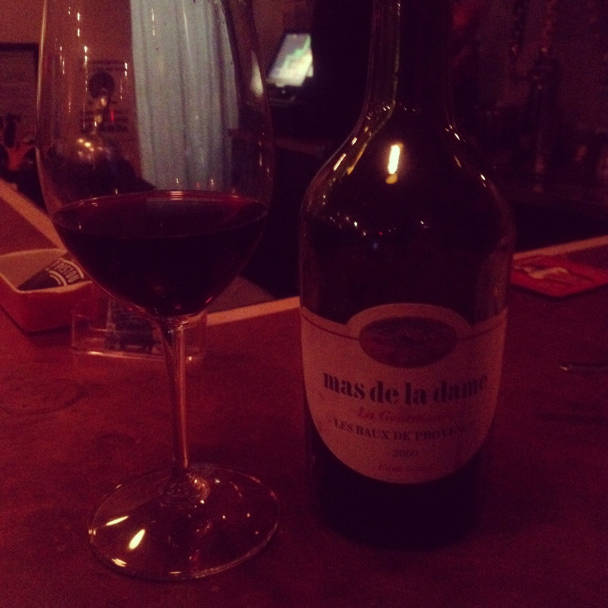 Mas De La Dame At Pistou In Burlington Vt 9 2 2012 Wine Bottle Bottle Drinks