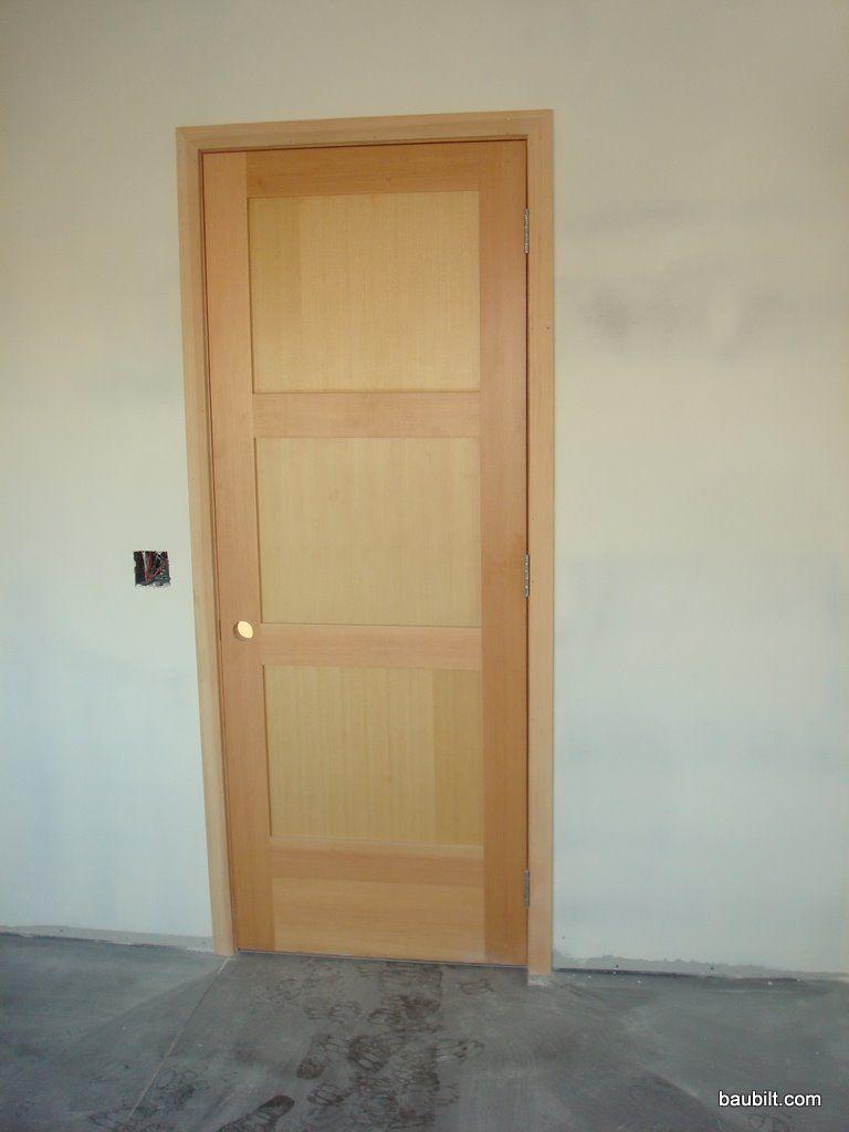 Door Trim Styles Panel Vertical Grain Fir Doors With 2 1 4 Square Edge Casing Interior Door Trim Baseboard Styles Doors Interior Modern