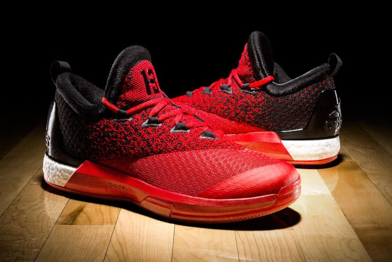 4ca7d562d521 James Harden Adidas Crazylight Boost 2.5 Houston Rockets ...