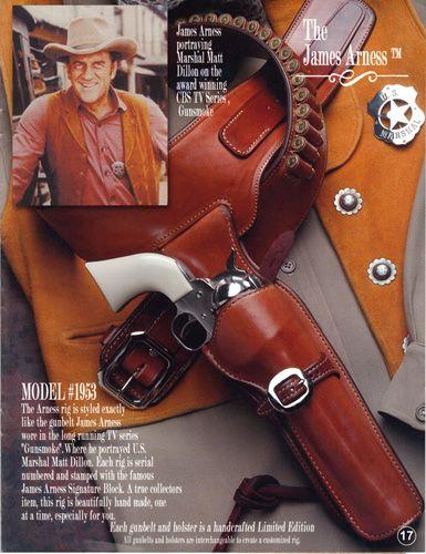 Western Gun Holsters custom made by John Bianchi - James
