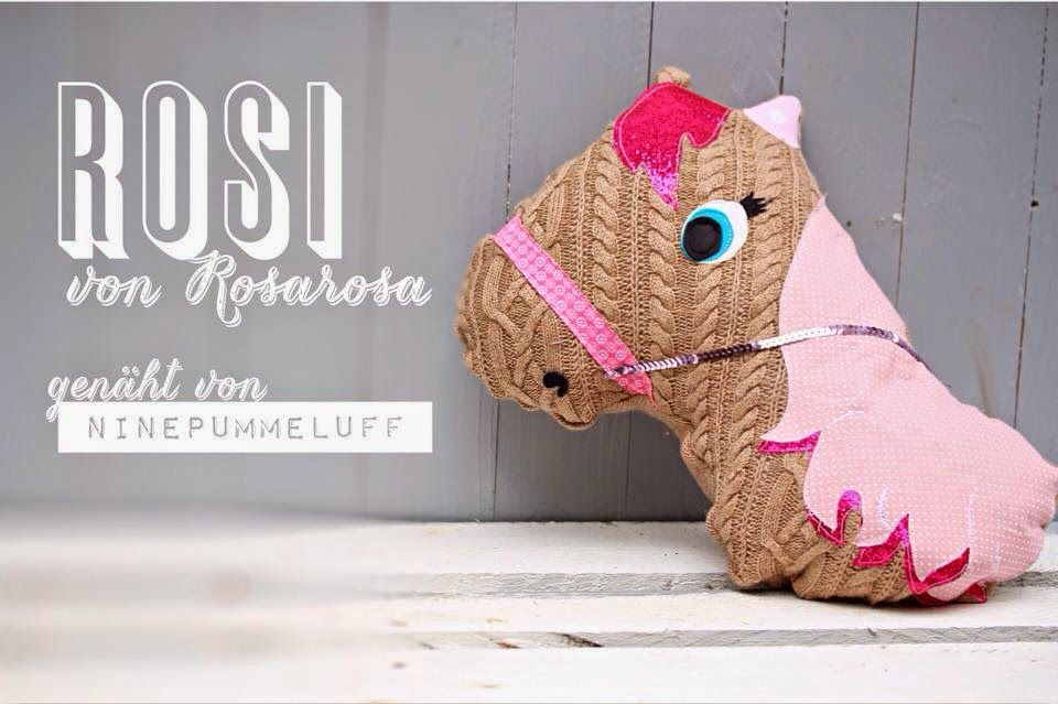 Horse Pillow for Kids