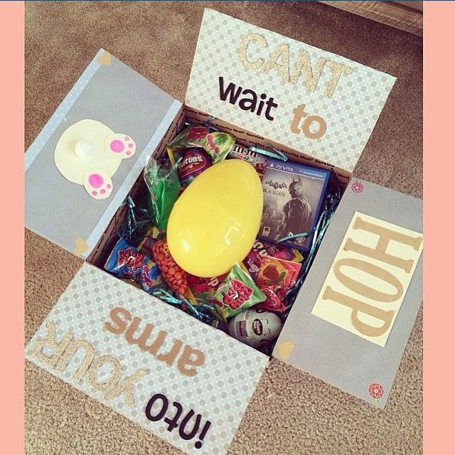 Thanks for sharing juliejohnsonx3 easter care package thanks for sharing juliejohnsonx3 easter care package military life pinterest easter boyfriends and gift negle Images