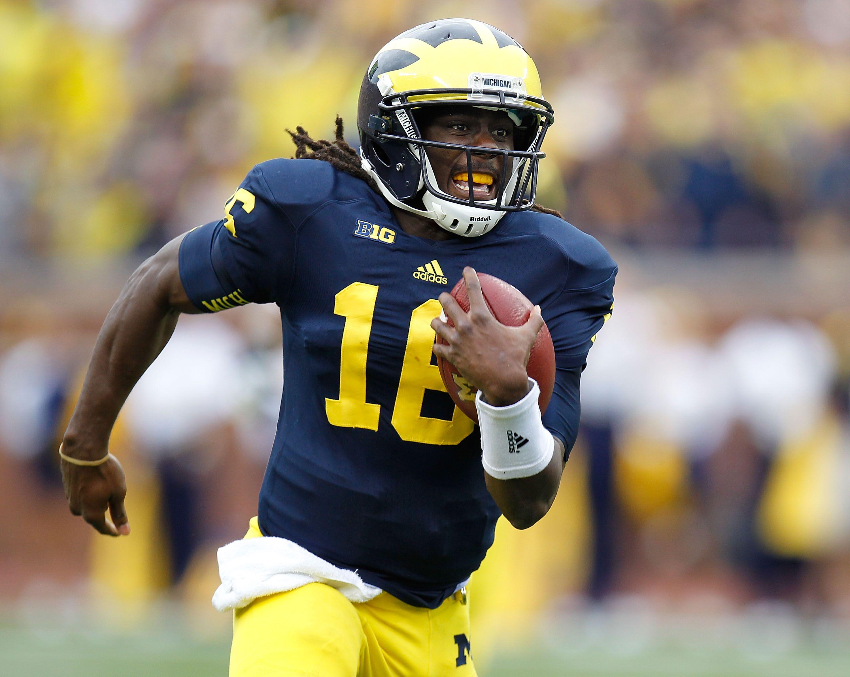 508945de4 Ranking Denard Robinson among Michigan Football greats
