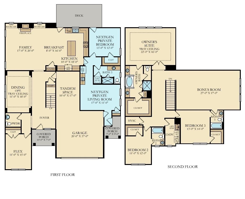 Raleigh North Carolina Homes For Sale By Lennar Floor Plans House Floor Plans New House Plans