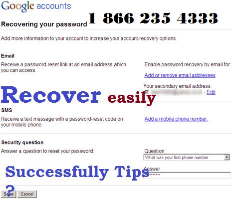 Learn Google Forgot password recovery via calling Google