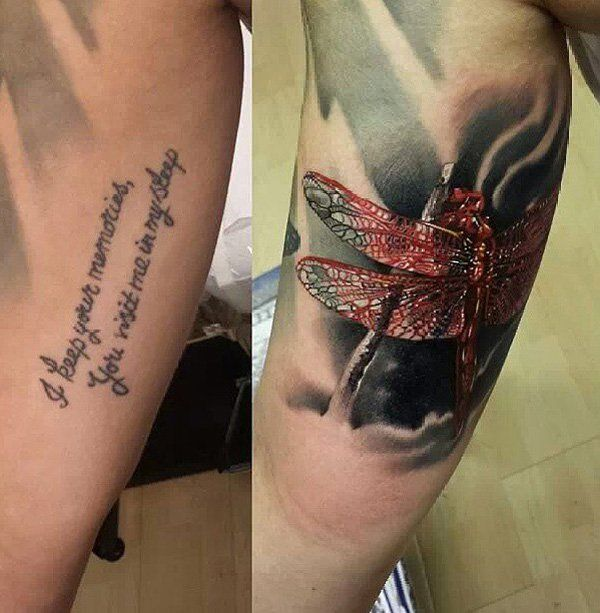 55 Incredible Cover Up Tattoos Before And After Cover Up Tattoos Cover Tattoo Up Tattoos