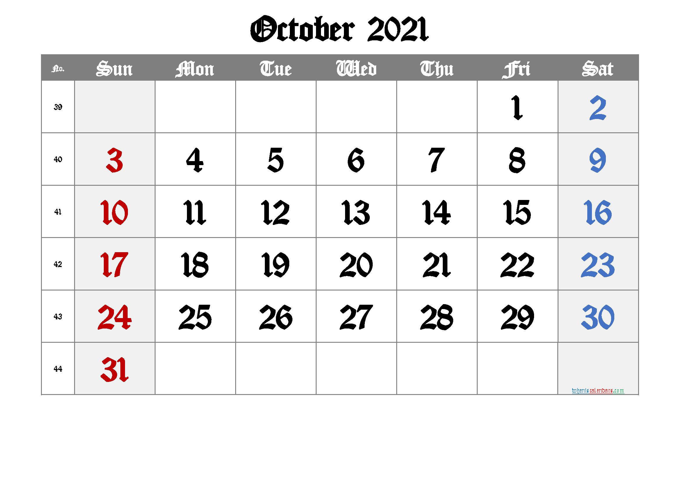 Free Printable Calendar 2021 October Free Premium In 2020 Calendar Printables Printable Calendar July June Calendar Printable