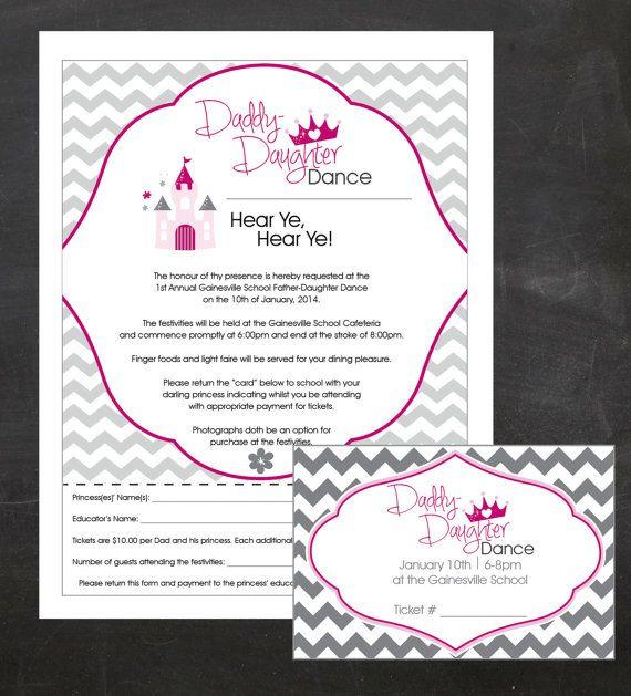 Event Custom Printable Package