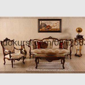 Harga Sofa Ruang Tamu Kayu Jati Mebel Kursi Dan Desain