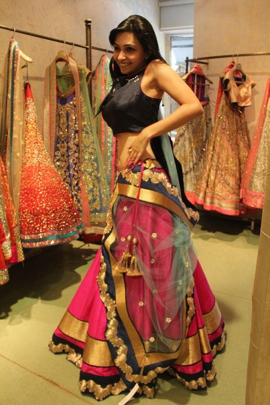 Fashion week How to half wear saree dupatta for lady