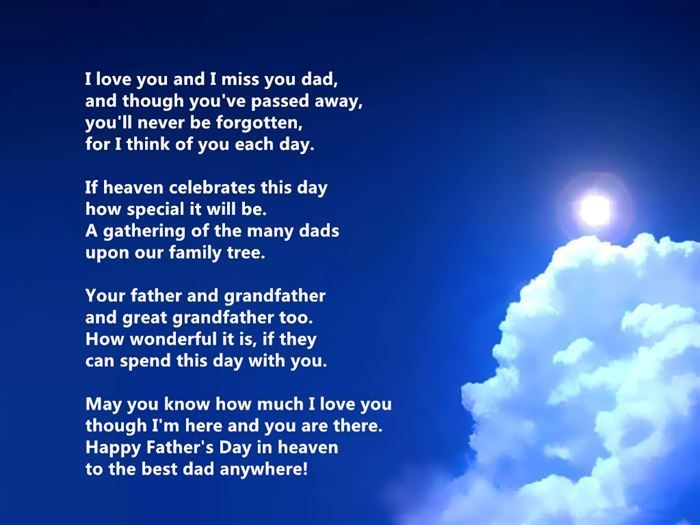 Deceased Fathers Day Quotes From Daughter | Family | Pinterest ...